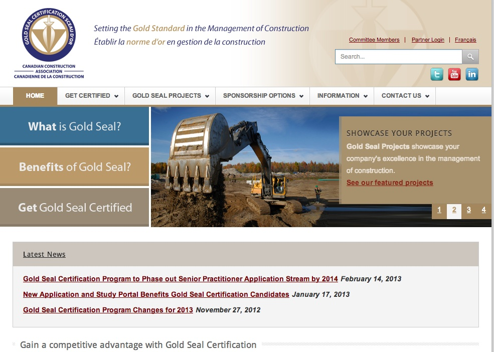 New Application And Study Portal Benefits Gold Seal Certification