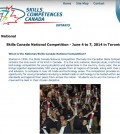 Skills Canada competition