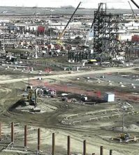 sturgeon refinery construction