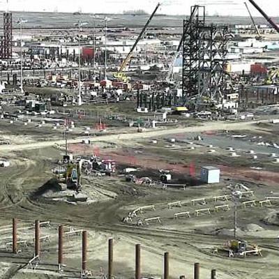 sturgeon refinery construction