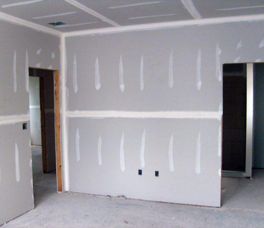 gypsum board (drywall)