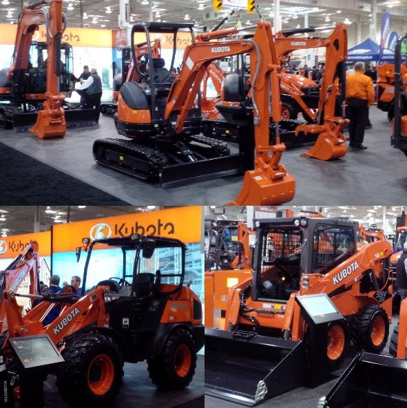 kubota heavy equipment show