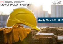 drywall support program ad