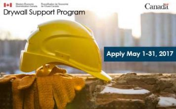 drywall support program ad