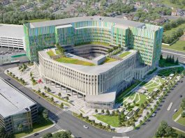Calgary Cancer Centrre rendering