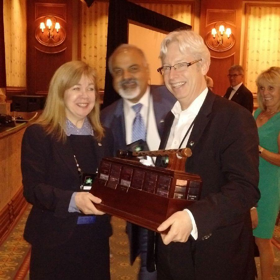 jane morgan receiving gavel