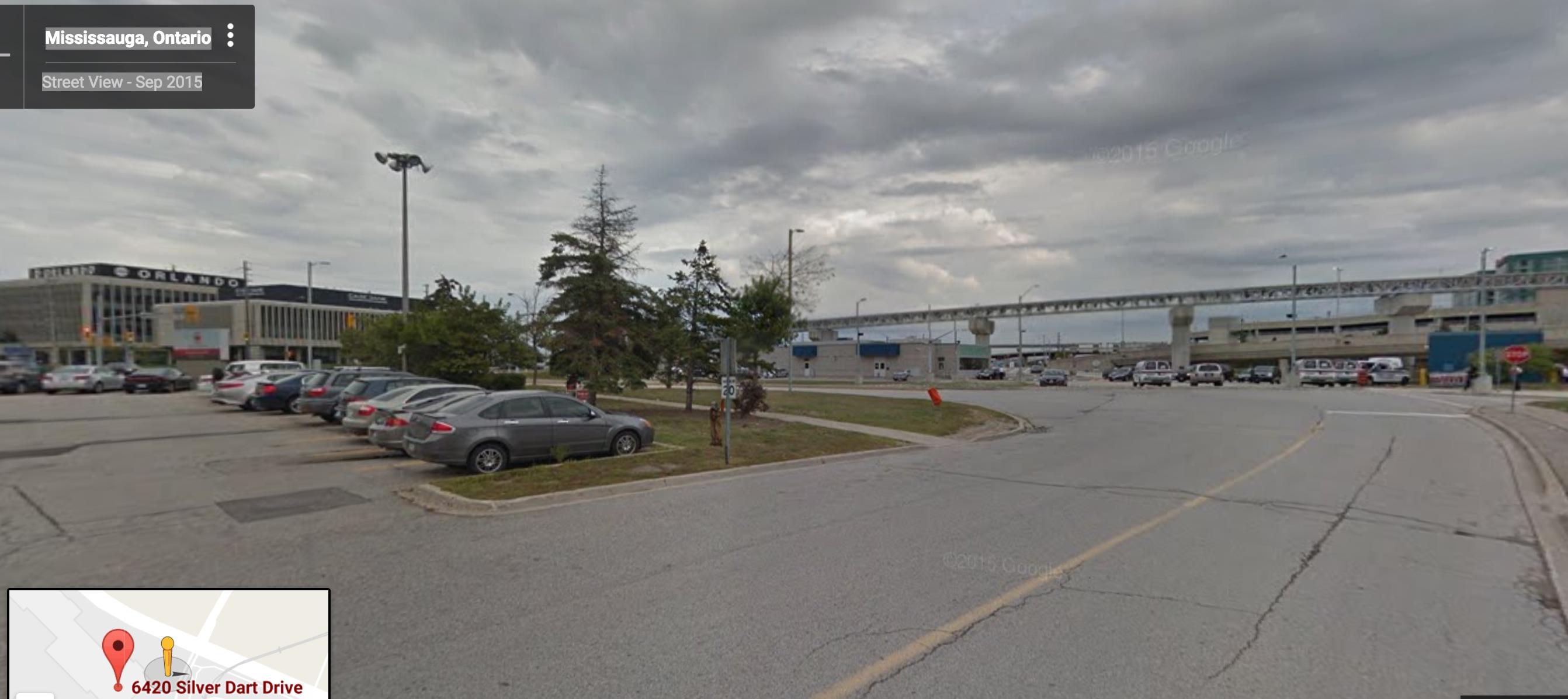 air canada hangar site