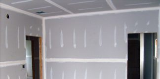 gypsum board (drywall)
