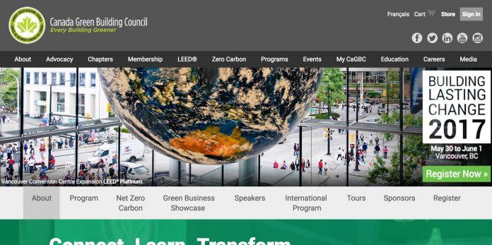 CaGBC building lasting change