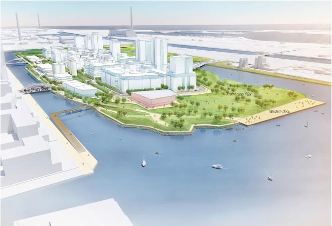proposed waterfront development toronto