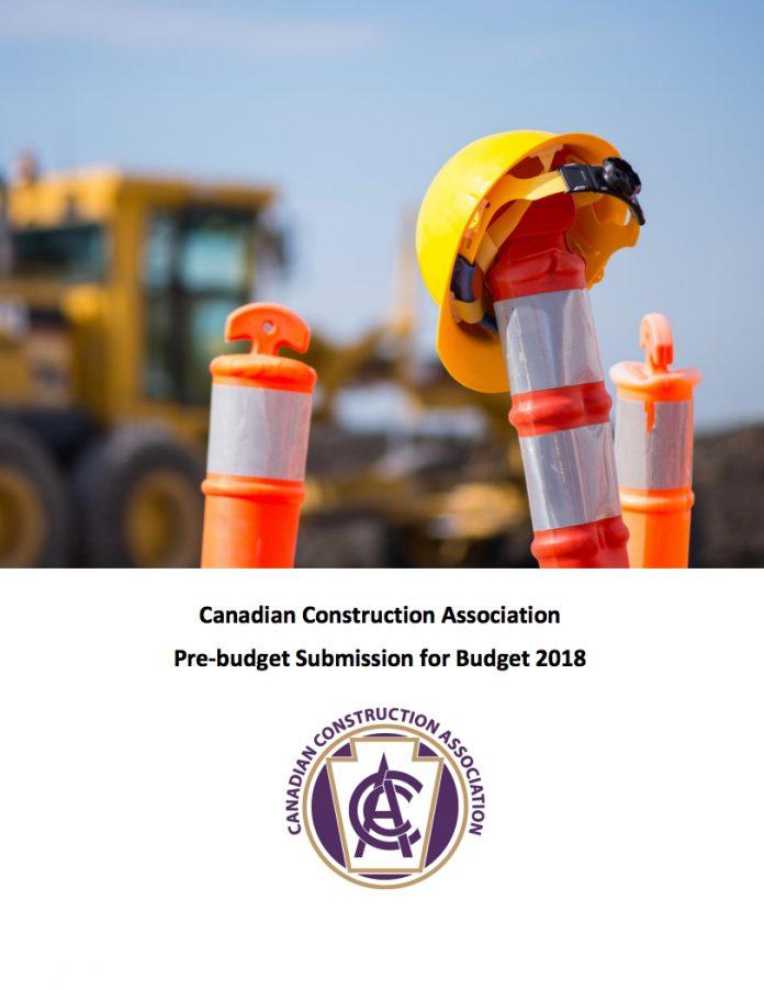 CCA prebudget submission