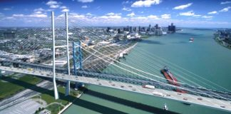 ambassador bridge span