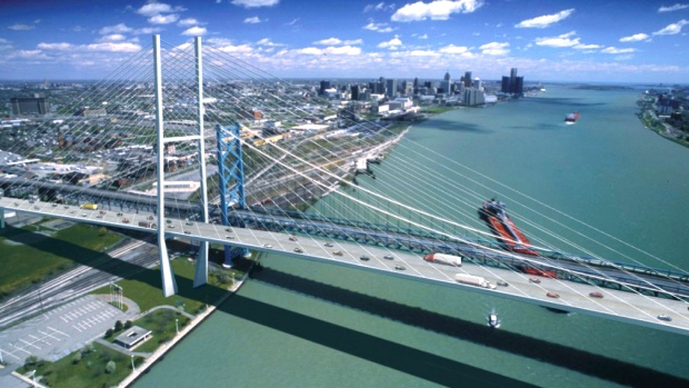 $1 billion Ambassador Bridge replacement to create 4,000
