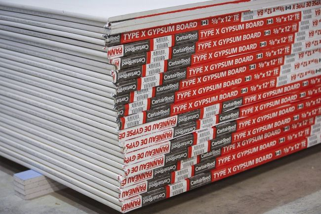certainteed gypsum board