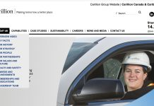 Carrillion Canada website