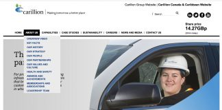 Carrillion Canada website