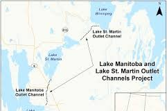 lake st martin channel