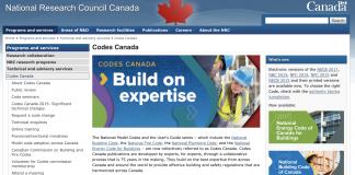codes canada