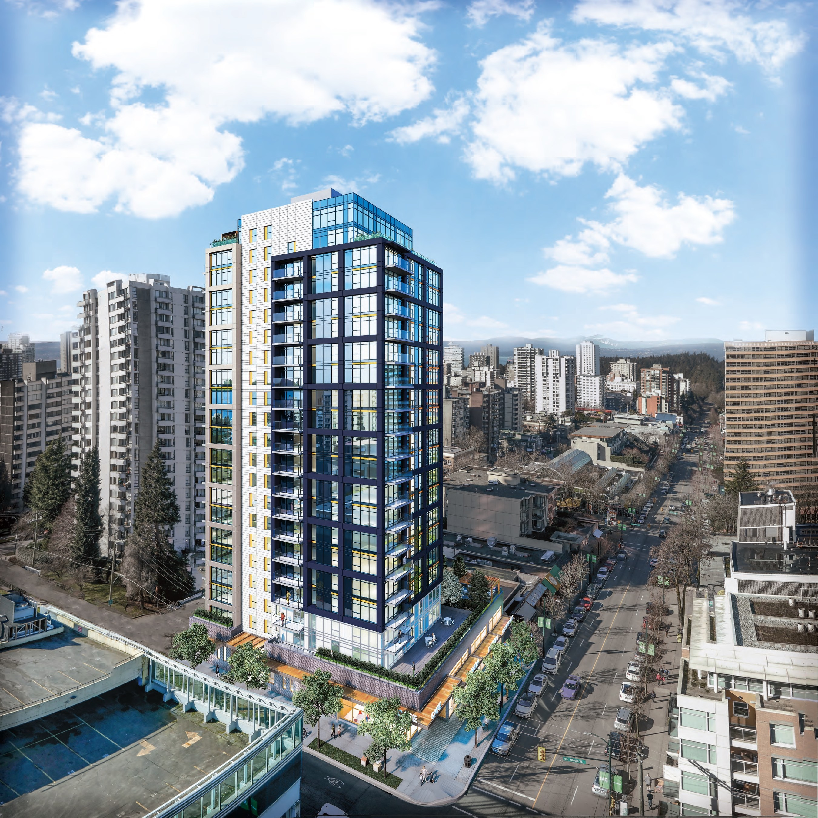 West End Vancouver: 21-story Rental Tower Breaks Ground In Vancouver's West