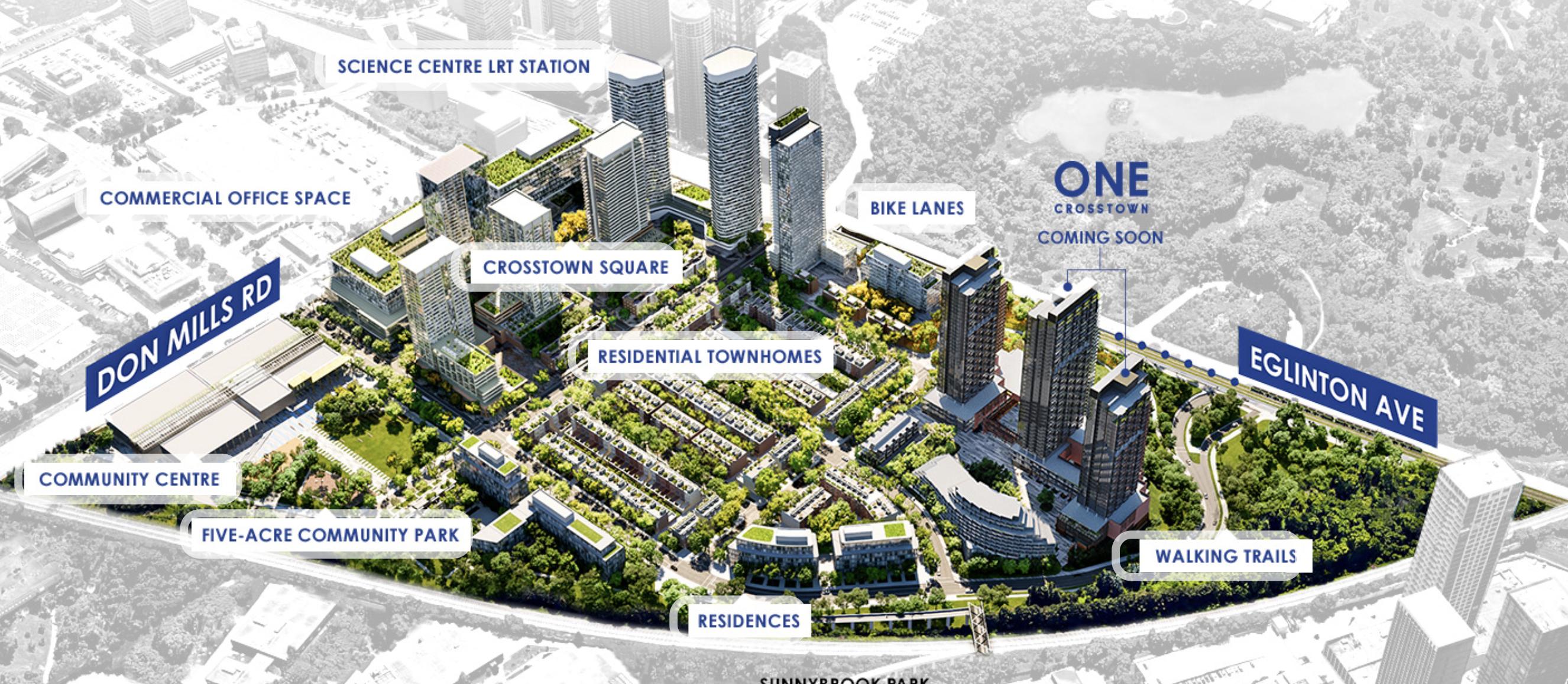 Toronto developer plans 60 acre mixed-use development at former IBM