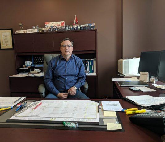 United Association (UA) Local 71 business manager Angus Maisonneuv
